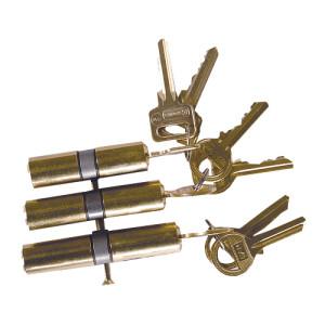 Wkładki do drzwi, systemy kluczy